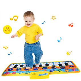 abordables Jouets Musique, Art & Dessin-Tapis Musical Multi Fonction Matière Polycarbonate Unisexe Garçon Fille Jouet Cadeau