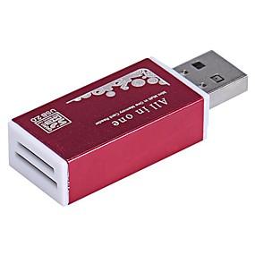 abordables Lecteurs et stockage-MMC SD/SDHC/SDXC MicroSD/MicroSDHC/MicroSDXC/TF Lecteur de cartes