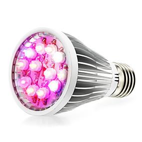 abordables Lampe de croissance LED-1pc 8 W Ampoule en croissance 290-330 lm E14 GU10 E26 / E27 12 Perles LED LED Haute Puissance Blanc Rouge Bleu 85-265 V / 1 pièce / RoHs / FCC