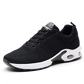 cheap Men's Athletic Shoes-Men's Comfort Shoes Knit Fall / Winter Athletic Shoes Running Shoes Black / Gray / Blue