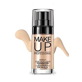 cheap Makeup and Beauty-Concealer Foundation Oil-control / Long Lasting / Concealer Daily / Face Waterproof Makeup Cosmetic
