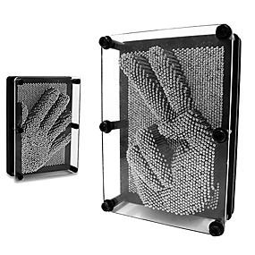 billige Pedagogiske Leker-Pinart i 3D Nyhet Venner hender Nytt Design Utdanning Rustfritt Stål Glass Barne Voksne Gutt Jente Leketøy Gave 1 pcs
