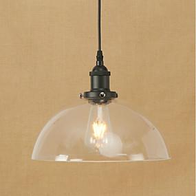 billige Hengelamper-Anheng Lys Omgivelseslys Metall Glass Mini Stil, Pære Inkludert, Øyebeskyttelse 110-120V / 220-240V Pære Inkludert / E26 / E27