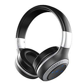 billige Hodetelefoner på øret og over øret-B20 Over-øret hodetelefon Trådløs Reise og underholdning V4.1 Med volumkontroll