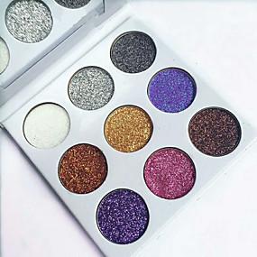 billige Øjenskygger-1 stk glittere enkelt øjenskygge diamant regnbue make up