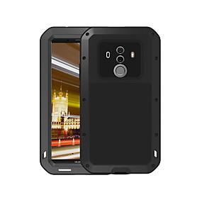 levne Pouzdra telefonu-Carcasă Pro Huawei Mate 10 pro Voda / Dirt / Otřesuvzdorný Celý kryt Jednobarevné Pevné Kov pro Mate 10 pro