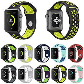 povoljno Smartwatch bendovi-Pogledajte Band za Apple Watch Series 4/3/2/1 Apple Sportski remen Silikon Traka za ruku