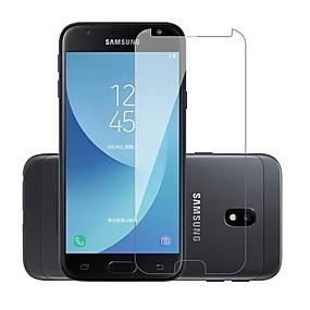 levne Chrániče obrazovky mobilního telefonu-Screen Protector pro Samsung Galaxy J3 (2017) Tvrzené sklo 1 ks Fólie na displej 9H tvrdost / Odolné proti poškrábání