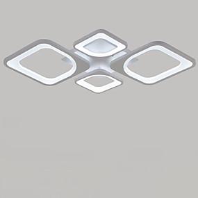 tanie Mocowanie przysufitowe-4 światła Podtynkowy Oświetlenie od dołu (uplight) Malowane wykończenia Metal LED 110-120V / 220-240V Ciepła biel / Biały Zawiera żarówkę / LED zintegrowany / FCC / VDE