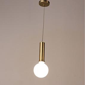 billige Hengelamper-Mini Anheng Lys Nedlys galvanisert Malte Finishes Metall Matt 220-240V Pære ikke Inkludert