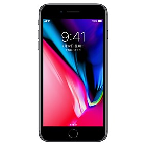 رخيصةأون تجديد فون-Apple iPhone 8 A1863 4.7 بوصة 64GB 4G هاتف ذكي - تم تجديده(أسود) / 12