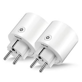 tanie Salon marki-WAZA Smart Plug SP06 na Kuchnia / Salon / Sypialnia Smart / Kontrola APP / Kontrola WIFI 100-240 V