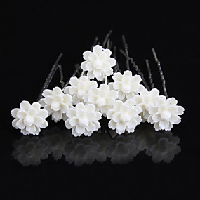 Decorations   Pins Hair Accessories Clay Wigs Accessories Women s 10pcs pcs  3 1 8