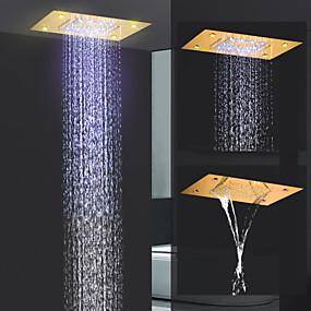povoljno Slavine-suvremeni kišni tuš ti-pvd značajka - kiša / novi dizajn, vodena tuš glava