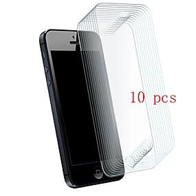 voordelige iPhone screenprotectors-Screenprotector voor Apple iPhone SE / 5s / iPhone 5 Gehard Glas 10 stuks Voorkant screenprotector 9H-hardheid / Krasbestendig