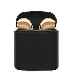 cheap Free shipping-Factory OEM I7S TWS Earbud Bluetooth 4.2 Headphones Earphone Plastic / Plastic Shell Driving Earphone New Design / Stereo / with Volume Control Headset