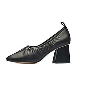 Χαμηλού Κόστους Γυναικεία Παπούτσια-Γυναικεία Δερμάτινα παπούτσια Μουτόν  Άνοιξη  amp  Χειμώνας Κινεζικό στυλ   6286bcd0315
