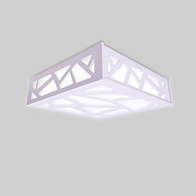 tanie Mocowanie przysufitowe-Podtynkowy Światło rozproszone Drewno Drewno / Bambus 110-120V / 220-240V Ciepła biel / Chłodna biel Źródło światła LED w zestawie / LED zintegrowany