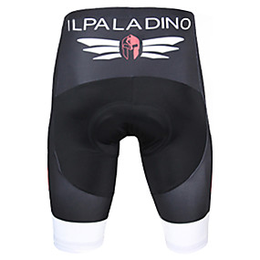 cheap Free shipping over $100, Sports & Outdoor-ILPALADINO Men's Cycling Padded Shorts Bike Shorts Padded Shorts / Chamois Pants Breathable 3D Pad Quick Dry Sports Solid Color Polyester Lycra Red / Green / Blue Road Bike Cycling Clothing Apparel