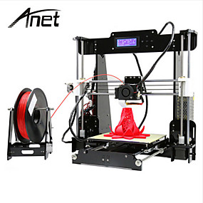 cheap Brand Salon-Anet A8 High Precision High Quality FDM Desktop DIY 3D Printer(Assembly instructions in SD card)