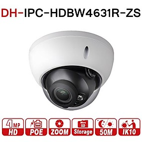 billige Utendørs IP Nettverkskameraer-dahua® ipc-hdbw4631r-zs 6mp ip kamera cctv poe motorisert zoom 2,7-13,5mm 50m ir sd kortspor nettverkskamera h.265 ik10 ip67