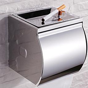 Toalettpappershållare Ny Design   Häftig Moderna Rostfritt stål 1st  Väggmonterad f6f440563f0da