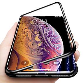 ieftine Accesorii Apple-Maska Pentru Apple iPhone XR / iPhone XS Max Anti Șoc / Magnetic Capac Spate Mată Greu Sticlă Temperată pentru iPhone XS / iPhone XR / iPhone XS Max