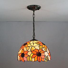 abordables Plafonniers-Spoutnik Lampe suspendue Lumière d'ambiance Finitions Peintes Verre Verre Multi-teintes, Créatif 110-120V / 220-240V