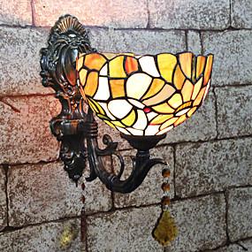 billige Tiffany Lamper-Kreativ / Smuk Tiffany / Retro / vintage Vegglamper Soverom / Innendørs Harpiks Vegglampe 110-120V / 220-240V 25 W