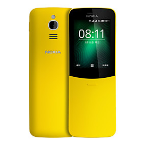 """billige Nokia-NOKIA 8110 2.4 tommers """" 4G smarttelefon ( 512MB + 4GB 2 mp MSM8905 1500 mAh mAh )"""