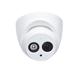 cheap Dahua® IP Cameras & Security Systems-Dahua® IPC-HDW4433C-A 4MP PoE IP Dome Camera with Night Vision H.265 and Built-in Mic for Outdoor and Indoor