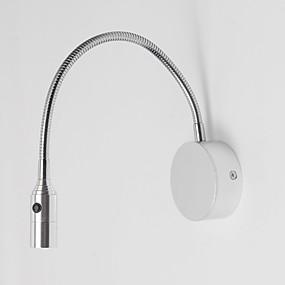 halpa Seinälampetit-Minityyli LED / Moderni / nykyaikainen Seinävalaisimet Makuuhuone / Työhuone / toimisto Metalli Wall Light 110-120V / 220-240V 3 W