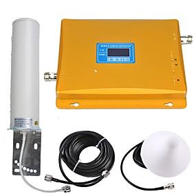 رخيصةأون مقويات إشارة الجوال-عرض lcd gsm / 3g إشارة الهاتف المحمول مكرر إشارة مكبر للصوت إشارة معززة 900/2100 المزدوج الفرقة