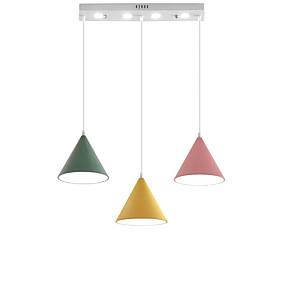 billige Hengelamper-QINGMING® 3-Light Mini Anheng Lys Omgivelseslys Malte Finishes Metall Mini Stil, LED 110-120V / 220-240V Varm Hvit / Kald Hvit