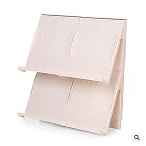 baratos Sapateiras & Cabides de Sapato-Sapateiras & Cabides Plástico 1 par Unisexo Marron / Branco