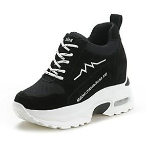 ea95b1a00c Γυναικεία Χοιρόδερμα Φθινόπωρο   Χειμώνας Αθλητικά Παπούτσια Τρέξιμο Κρυφό  τακούνι Μαύρο   Βυσσινί