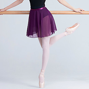 d03f8eadef00 Μπαλέτο Παντελόνια Φούστες Γυναικεία Εκπαίδευση   Επίδοση Ελαστίνη   Λίκρα  Ζωνάρια   Κορδέλες   Διαφορετικά Υφάσματα Φυσικό Φούστες
