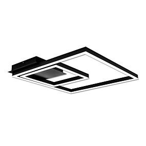 tanie Mocowanie przysufitowe-Podłużna Podtynkowy Światło rozproszone Malowane wykończenia Metal Akryl Przygaszanie, LED 90-240V Ciepła biel / Biały Źródło światła LED w zestawie / LED zintegrowany