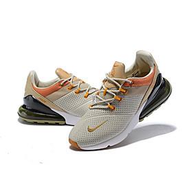 hesapli Erkek Atletik Ayakkabıları-Erkek Ayakkabı Tüylü İlkbahar & Kış / Bahar / Yaz Sportif / Günlük Atletik Ayakkabılar Koşu / Fitnes Çalışması / Yürüyüş Atletik / Günlük / Dış mekan için Bej / Nefes Alabilir / Sonbahar / Kaymayan
