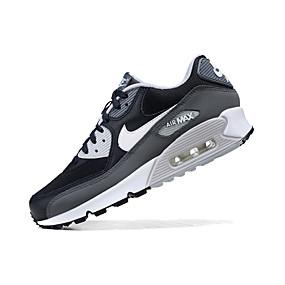 hesapli Erkek Atletik Ayakkabıları-Erkek Ayakkabı Tüylü İlkbahar & Kış / Bahar / Yaz Sportif / Günlük Atletik Ayakkabılar Koşu / Fitnes Çalışması / Yürüyüş Atletik / Günlük / Dış mekan için Siyah / Beyaz / Nefes Alabilir / Sonbahar