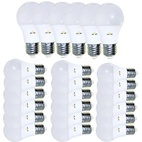 tanie Żarówki LED-EXUP® 24 szt. 5 W Żarówki LED kulki 450 lm E26 / E27 15 Koraliki LED SMD 2835 Kreatywne Godny podziwu Nowoczesne Ciepła biel 85-265 V