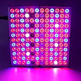 abordables Lampe de croissance LED-plein spectre plante fleur led grandir lumière led panneau downlight plein spectre 45w 144led ac85-265v plantes fleurs végétation