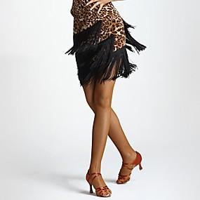 economico -0.5-Balli latino-americani Pantaloni Per donna Prestazioni Fibra di latte Nappa Cadente Gonne