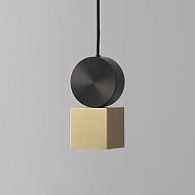 billige Hengelamper-CONTRACTED LED® Sylinder / Originale Anheng Lys Nedlys Malte Finishes Metall Akryl Mini Stil, Nytt Design 110-120V / 220-240V Varm Hvit / Kald Hvit