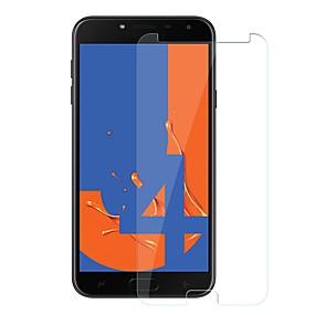 abordables Protectores de pantalla para celular-Protector de pantalla para Samsung Galaxy J4 Vidrio Templado 1 pieza Protector de Pantalla Frontal Dureza 9H / Anti-Arañazos