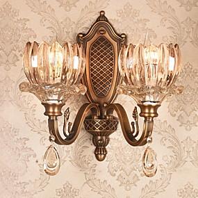 billige Vegglamper-Kreativ Moderne Moderne Vegglamper Innendørs Metall Vegglampe 220-240V 40 W
