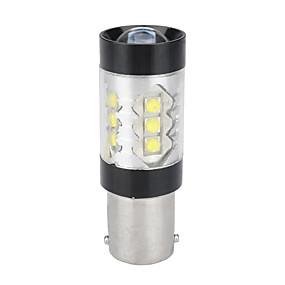povoljno Svjetla bočnih markera-1156 ba15s 3535 16smd 80w auto bijela prednja kočnica reversing žarulja