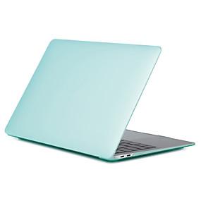 "levne MacBook příslušenství-MacBook Pouzdro Jednobarevné Plastický pro MacBook Pro 13-palců / MacBook Air 13-inch / New MacBook Air 13"" 2018"