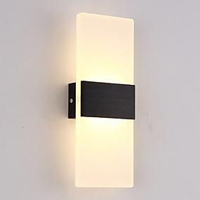 abordables Chandeliers Muraux-Design nouveau Moderne contemporain Appliques Chambre à coucher / Intérieur Métal Applique murale 85-265V 6 W