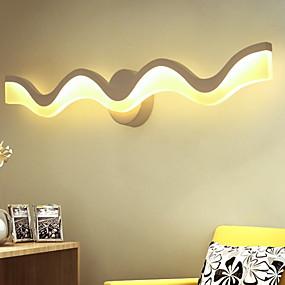 abordables Chandeliers Muraux-Design nouveau Moderne contemporain Appliques Chambre à coucher / Intérieur Acrylique Applique murale 220-240V 12 W